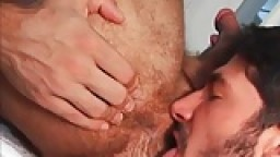 He loves rimming two asses together