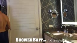 Stud Seduced by Gay Roommate in the Shower
